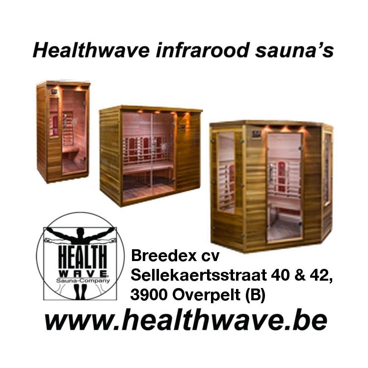 Breedex cv - Healthwave infrarood sauna's