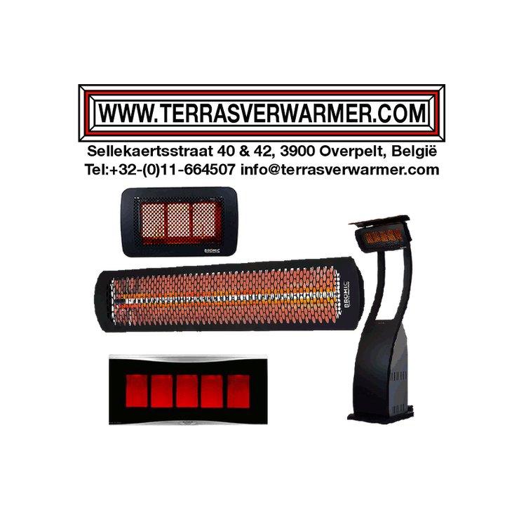 infrarood terrasverwarmers