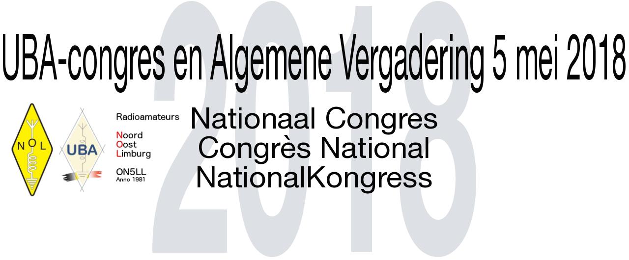 2018-uba-congres-alg-vergadering www.nolinfo.be ©